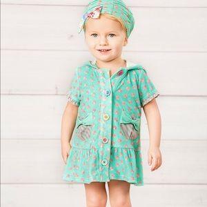 New Matilda Jane Miss Mermaid Swim Cover Up Dress